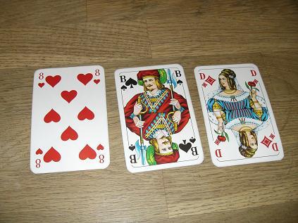 poker blätter namen Lüneburg